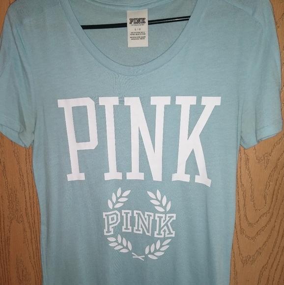 PINK Victoria's Secret Tops - PINK shirt sleeve T-shirt